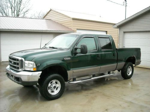 2002 ford v10 rv generator transfer switch wiring diagram sell used f250 superduty crew cab 4x4 four wheeldrive pickup lariat triton