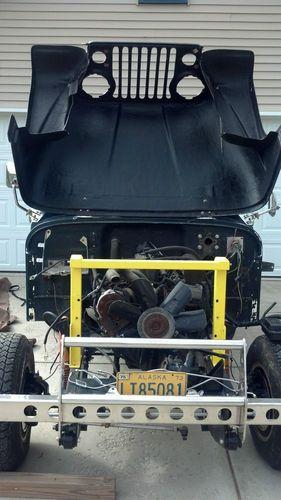 Sell Used Jeep Cj7 Fiberglass New Frame Ss