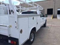 Buy used Silverado Classic hd white, 8 foot utility bed ...