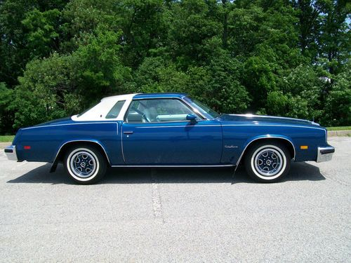 Buy Used 1976 Oldsmobile Cutlass Supreme Coupe 2 Door 57L
