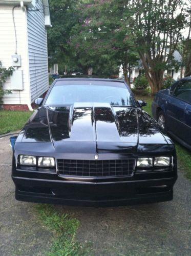 Find Used 86 Monte Carlo Ss In Burlington North Carolina