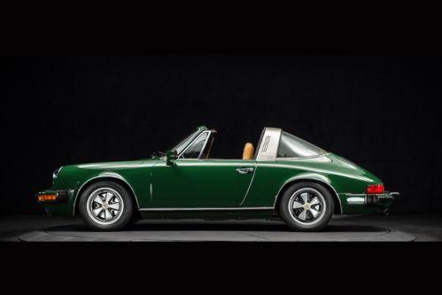 Sell Used 1977 Porsche 911s Targa Original Irish Green