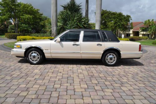 1997 Lincoln Town Car Electrical And Vacuum Troubleshooting Manual