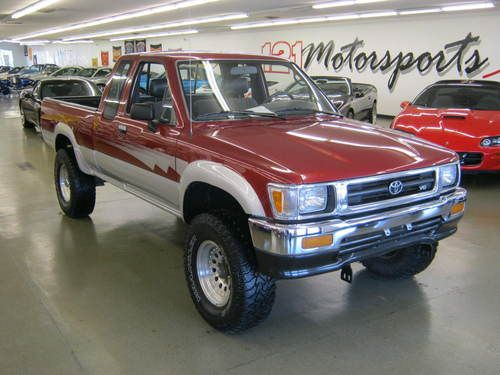Find Used 1992 Toyota Extended Cab 4X4 Pickup In Mount