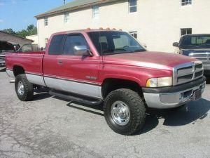 Find used 97 Dodge Ram 2500 SLT 4x4 Cummins 12 v Turbo diesel 5 speed Texas Truck MINT in