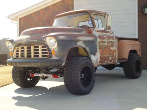1955 Chevy Truck 4x4 Lifted