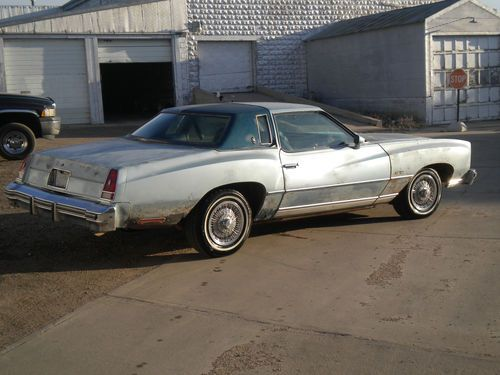 Purchase Used 1976 CHEVY MONTE CARLO LANDAU SPORT In