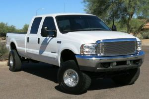 Purchase used NO RESERVE 2001 FORD F350 73L DIESEL LIFTED