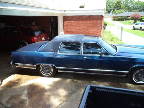 Purchase Used 1979 Lincoln Continental Town Car 4 Door