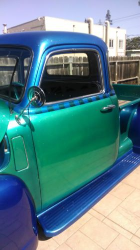 Buy Used Candy Pearl Blue Green 50 Chevy Pickup In