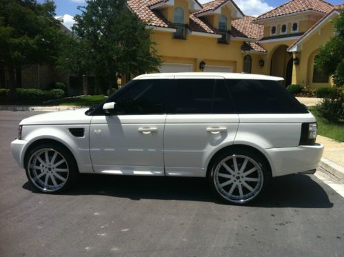 Find Used 2009 Land Rover Ranger Rover Sport Supercharged
