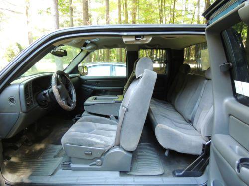 2006 Chevy Silverado Ext Cab