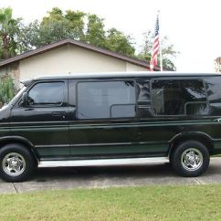 Which Suvs Have Captains Chairs Grosfillex Resin Find Used 1999 Dodge Conversion Van 127.6