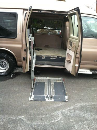 Find used Chevy 1500 Express Conversion Handicap Van Low