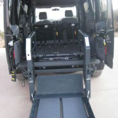Power Chair For Sale Kitchen Island With Chairs Find Used 2011 Ford Transit Connect Wheelchair Accessible Van Full Size Rear Lift. In , ...