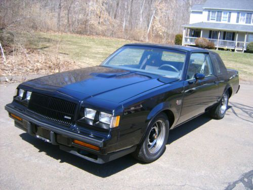 Sell Used 1987 Buick Regal Grand National In Northford