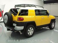 Sell used 2009 TOYOTA FJ CRUISER 4X4 AUTO REAR CAM ROOF ...
