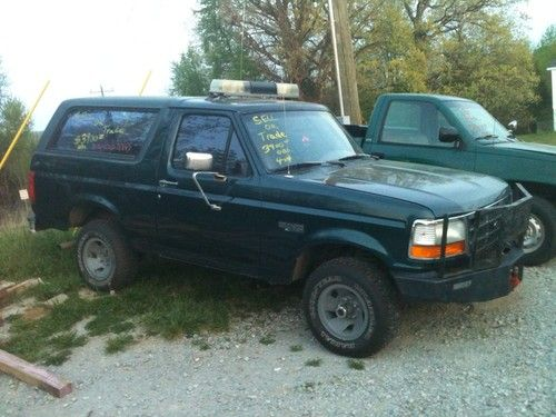 Purchase used 1995 Ford Bronco XL Sport Utility 2Door 5