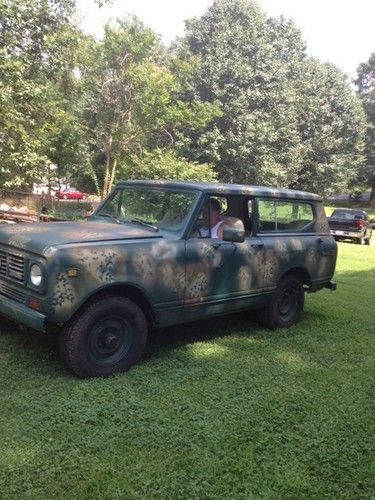 Find used 1963 International Harvester Scout 80 4X4 IH in Baytown Texas United States for US