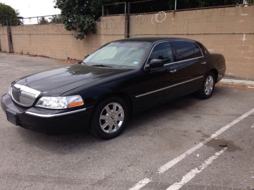 Find Used 2011 Lincoln Town Car Executive L Limousine 4