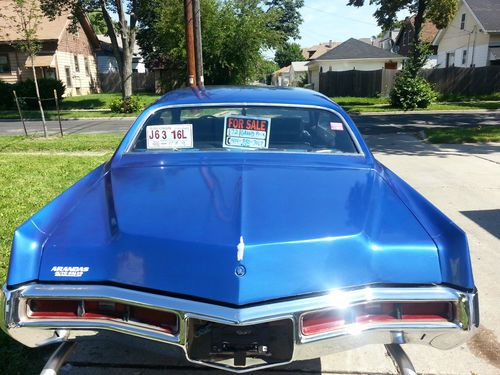 Find used 1972 Grand Prix SJ Blue Custom Blue  Black