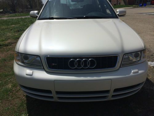 Sell used 2001 Audi S4 6spd 27T Twin Turbo Fully Serviced