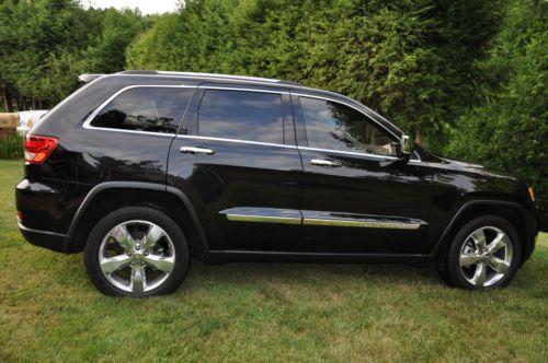 Sell Used 2012 Jeep Grand Cherokee Overland Summit Sport