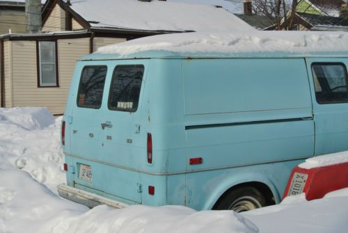 wheelchair van parts kid bean bag chair buy used 1972 ford econoline 200 in milwaukee, wisconsin, united states