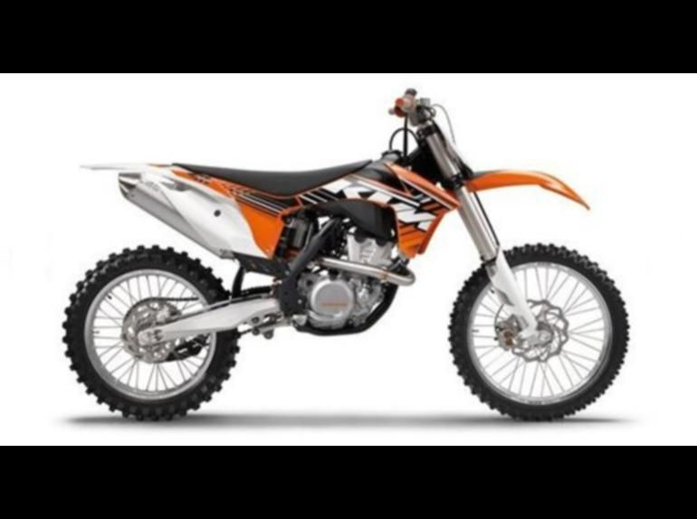 Buy 2012 KTM 350 SX-F 350 Dirt Bike on 2040-motos