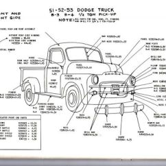 Dodge Truck Parts Diagram Pollak Ignition Switch Wiring Sell 1948 1949 1950 1 2 3 4 Ton Exterior Body