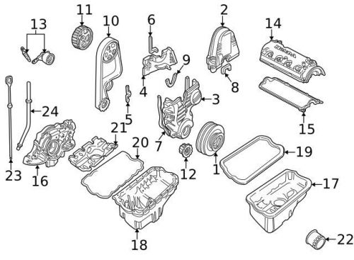 Purchase Genuine 1996-2000 Honda Civic Oil Pan Gasket