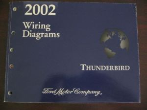 Buy Ford 2002 Thunderbird Wiring Diagrams motorcycle in