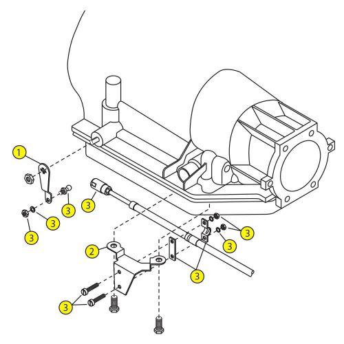 Buy Art Carr Shifter TH400 '65+ Hardware Kit (1095