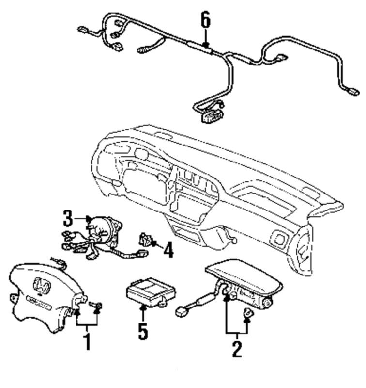 Service manual [92 95 Honda Civic Oem Right Passenger Side