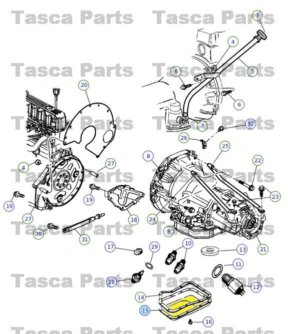 Purchase Pontiac Grand AM GM Oil Pan with Valve Cover OEM