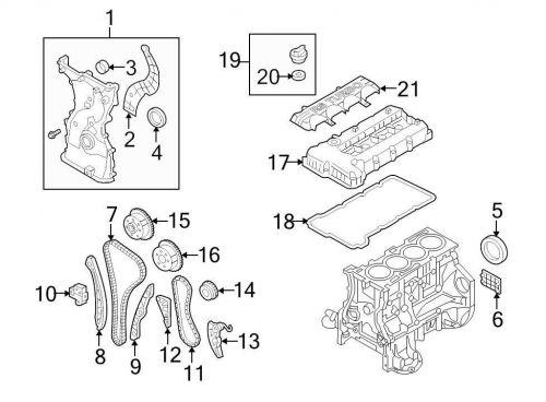 Buy Chrysler OEM Chrysler Engine Timing Chain Guide