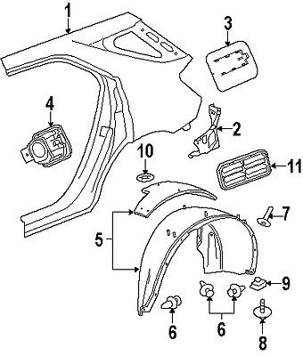 Find FORD 8S4Z8327B GENUINE OEM FACTORY ORIGINAL AIR