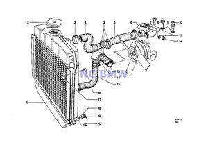 Sell BMW Genuine Radiator Cooling System Thermostat