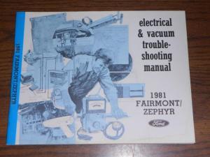 Sell 1981 FORD FAIRMONT  MERCURY ZEPHYR  WIRING & VACUUM