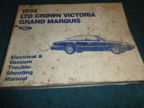 1992 Ford Crown Victoria Repair Manual