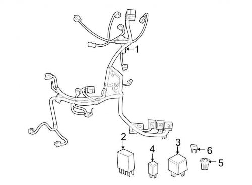 Buy Chrysler OEM Engine Wiring Harness 04795347AD Image 1