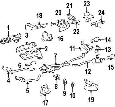 Buy Mercedes BENZ Exhaust/Muffler Hanger OEM PART