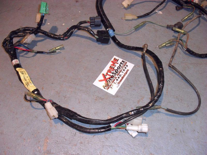 Find 97 01 Yamaha Warrior 350 Electrical Wiring Harness