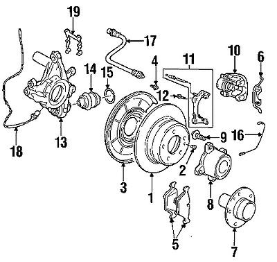 Sell REAR SHOES PARKING BRAKE SET 583051MA00 KIA FORTE