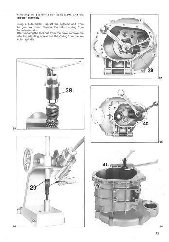 Buy MOTO GUZZI Workshop Manual Le Mans Mk4 1000 1984 1985