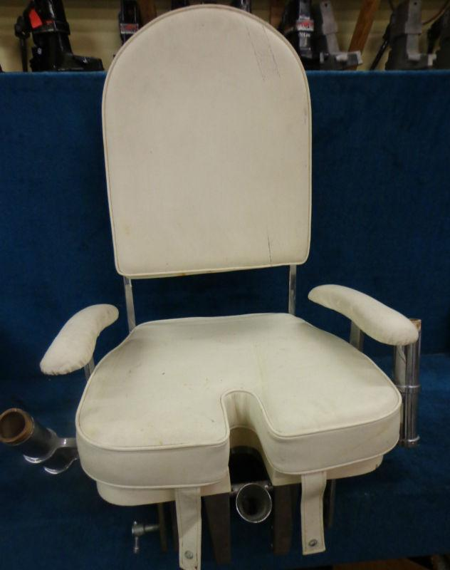 fishing fighting chair parts floor protectors sell seat cover cushions white salt water charter
