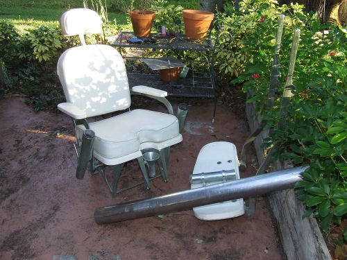 fishing fighting chair parts hickory company buy vintage pompanette marlin blue water local pick up only us 995 00