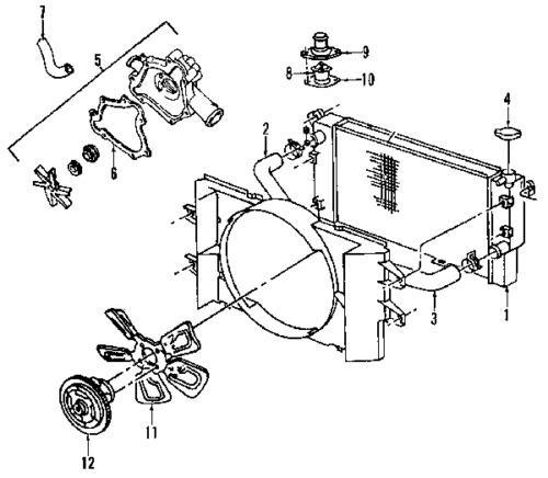 Sell TOYOTA OEM 5145534010 Radiator Support-Splash Shield