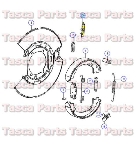 Sell Wagner Brake Cable Part# F108744 for 85-86 Caravan