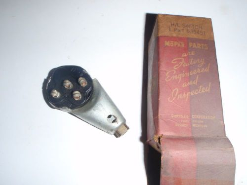 19491954 Chevy Bel Air Head Light Dimmer Switch Chevy Parts